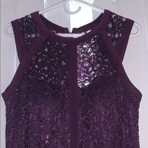 Plum Nightway Prom Dress